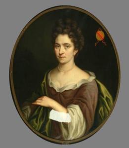 Portret van Alida van der Burch ( -1727)