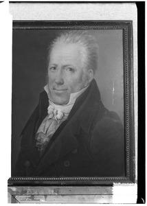 Portret van Judocus Henricus Antonius Adrianus Josephus Joannes baron van der Heyden (1765-1854)