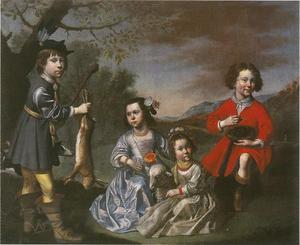 De kinderen van de stadsapotheker Heinrich Elberfeld (1609-1679)