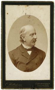 Portret van Hendrikus Kuipers (1827-1907)