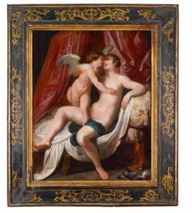 Venus en Cupido in omarming