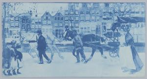 Lauriersgracht in de sneeuw