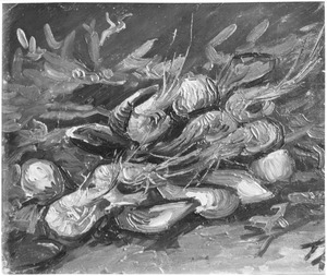 Mosselen en garnalen