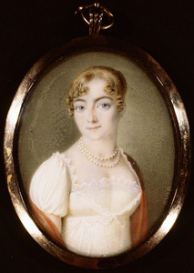 Portret van Catharina Johanna Overgaauw Pernis (1792-1814)