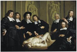 Anatomische les van Prof. Frederik Ruysch