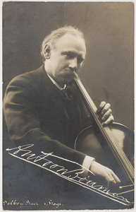 Portret van Antoon Bouman (1854-1906)