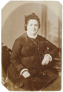 Portret van Ernestina Adriana Petronella Louise Susanna van Vladeracken (1825-1893)