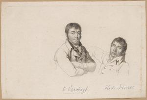 Portretten van Dirk Versteegh (1751-1822) en Hendrik de Flines (1760-1832)