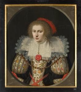 Portret van Theodora van Wassenaer (1607-1679)