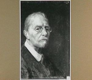 Zelfportret van de kunstenaar Jacob Simon Hendrik Kever