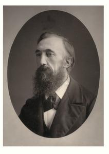 Portret van de kunstschilder Julius Jacobus van de Sande Bakhuyzen