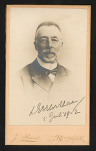 Portret van Jacob Hendrik de Haas (1837-1906)