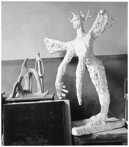 Beelden in het atelier van Hans Ittmann