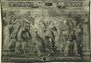 De verzoening tussen de Romeinen en de Sabijnen