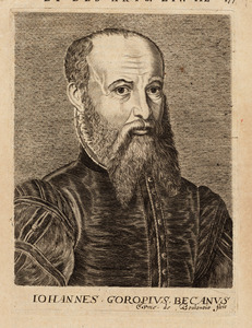 Portret van Johannes Goropius Becanus (1519-1572)