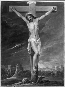 De vijftien mysteriën van de rozenkrans: Christus aan het kruis