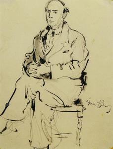 Portret van Johan Buning (1893-1963)