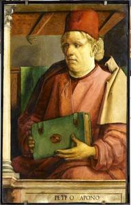 Pietro d' Abano (ca.1246-ca.1330) uit de serie 'Beroemde Mannen'