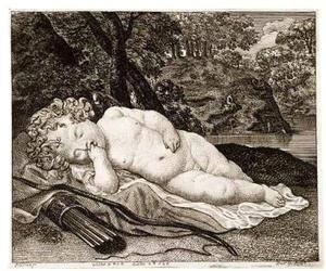Slapende Cupido