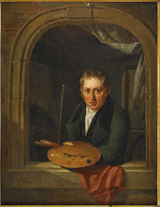 zelfportret van Jacques Joseph Eeckhout (1793-1861)