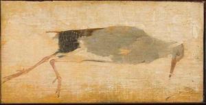 Dood vogeltje met judaspenning