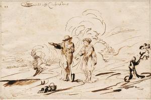 Jozef ontmoet een man die hem de weg wijst naar zijn broers in Dotan (Genesis 37:15-17)