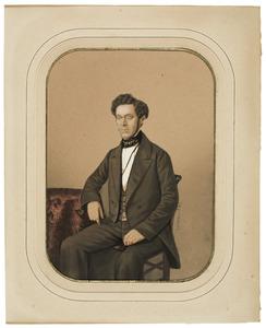 Portret van een man, mogelijk Rudolf Herman van Haersolte (1825-1859)
