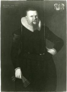 Portret van een lid van de familie Jongestal