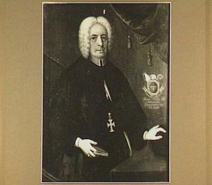 Portret van een abt van Rolduc op 66-jarige leeftijd