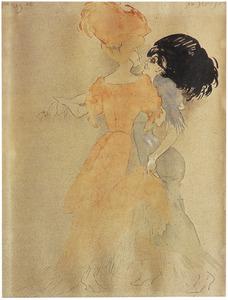 Twee dansende vrouwen