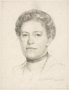 Portret van Johanna Küller (1884-1966)