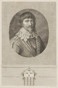 Portret van Diederik van Waardenburg (Theodorus van Weerdenburg) (....-....)