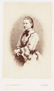 Portret van Clotilde Alexandrine Marie Cornelie van Lamsweerde (1848-1913)