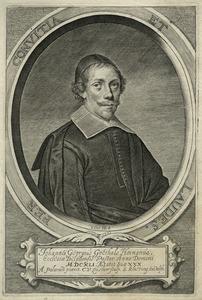Portret van Johannes Georgius Goethals (1611- )