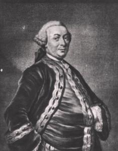 Portret van Jean Nepveu (1719-1779)