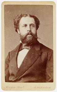 Portret van dhr. Hulsebosch van Ledden