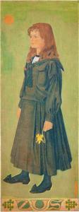Portret van Helena (Zus) Henny (1885-1921)