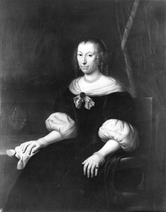 Portret van Jacoba Ranst ( -1675)