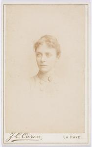 Portret van Sara Kips (1864-1965)