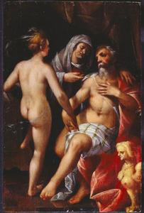Standvastige filosoof (Phryne en Xenocrates?)