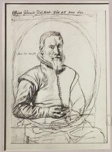 Portret van Johannes Junius (....-1635)