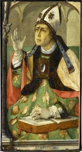 De H. Augustinus (354-430) uit de serie 'Beroemde Mannen'