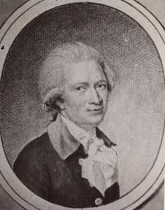 Portret van George Francois de Bosset (1756-1813)