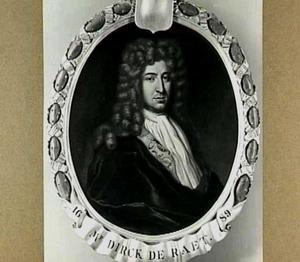 Portret van Dirk de Raet (1650-1708)