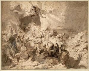 De nederlaag van Sanherib (2 Koningen 19: 35-36; Jesaja 37:36-37 )