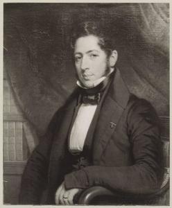 Portret van mogelijk Robert Daniel Wolterbeek (1801-1883)