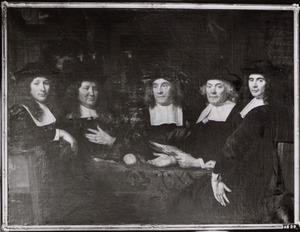 Regenten van het Heilige Geest of Armenweeshuis te Leiden, 1668