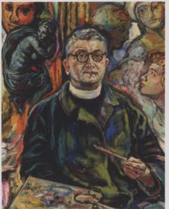 Portret van Jakob Nieweg (1877-1955)