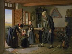 Het bezoek aan grootvaders huis