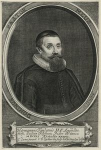 Portret van Herman Tegularius (1605-1666)